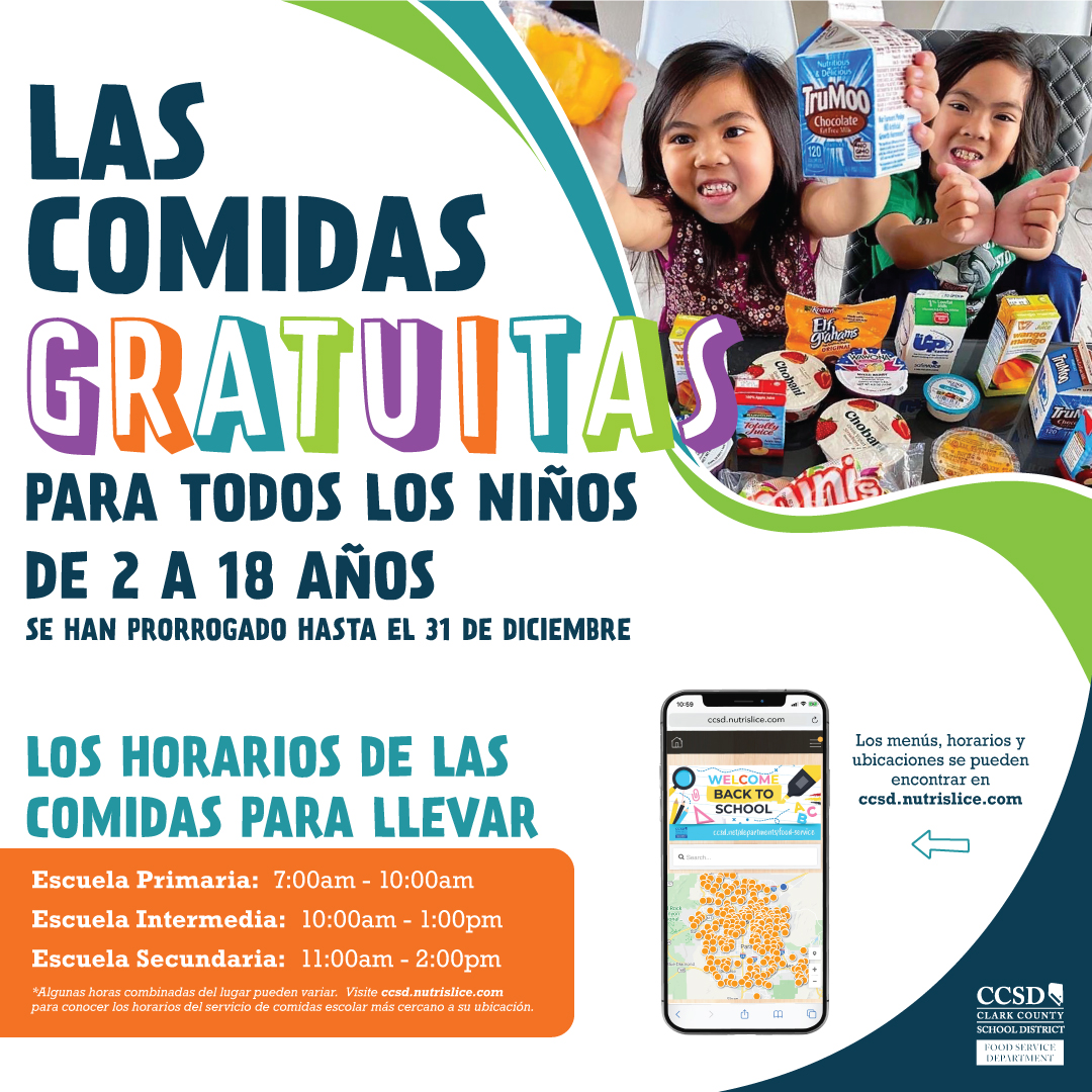ccsd meals spanish