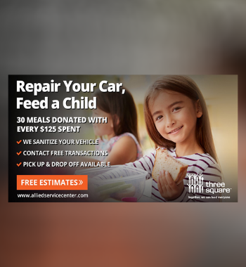 Repair Your Car, Feed a Child with Allied Service Center