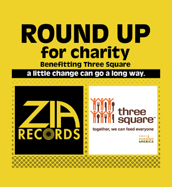 Round Up for Charity with Zia Records